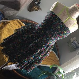 Vintage 90s Betsey Johnson prom dress